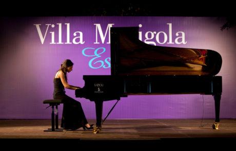 Valentina Lombardo in Villa Marigola (Lerici)